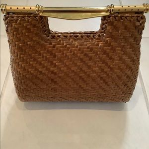 Rodo Wicker Clutch